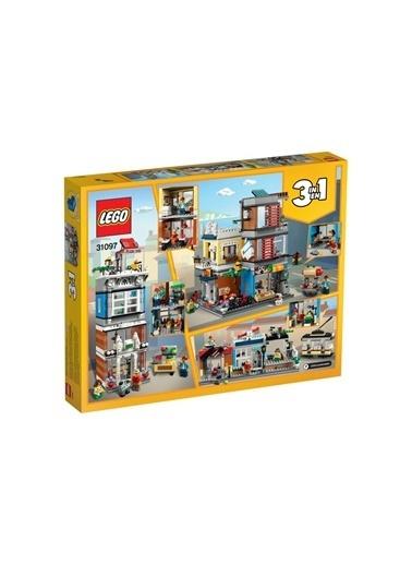 Lego LEGO Creator Evcil Hayvan Dükkanı ve Kafe Renkli